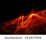 abstract background element.... | Shutterstock . vector #421617046