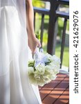 wedding  | Shutterstock . vector #421629076