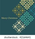 retro winter background | Shutterstock .eps vector #42164641