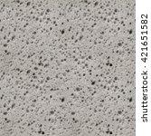 seamless porous grey sponge... | Shutterstock . vector #421651582
