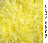 Fluffy Background. Yellow...