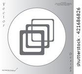 photo archive icon. vector...