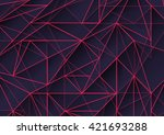 abstract  background with... | Shutterstock . vector #421693288