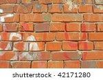 old brick wall   Shutterstock . vector #42171280
