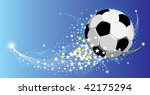 festive fantasy football... | Shutterstock .eps vector #42175294