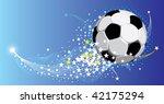 festive fantasy football...   Shutterstock .eps vector #42175294