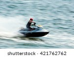 Young Man Professional Jet Ski...
