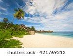 beautiful view of grand anze... | Shutterstock . vector #421769212