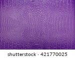 Background Of Purple Crocodile...