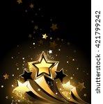 Three Sparkling  Golden Comet...
