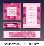 modern grunge brush design... | Shutterstock .eps vector #421802095