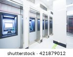 atm automatic telling machine ... | Shutterstock . vector #421879012