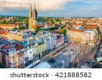 Aerial View At Capital Town Of...