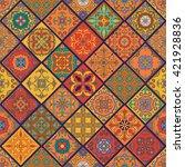 vector seamless texture.... | Shutterstock .eps vector #421928836