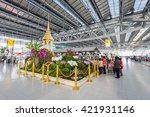 bangkok  thailand   october 15  ... | Shutterstock . vector #421931146