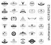 Set Of Vintage Badges And...
