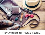 clothing and accessories for... | Shutterstock . vector #421941382