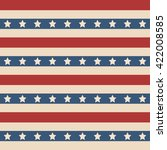 american patriotic stars and... | Shutterstock .eps vector #422008585
