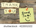 thank you. | Shutterstock . vector #422031322