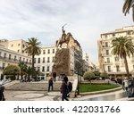 algiers  algeria   feb 6  2016  ... | Shutterstock . vector #422031766
