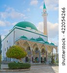 Small photo of Al-Jazzar mosque is the fine example of the Ottoman architecture in old Acre, Israel.