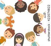 international day of friends... | Shutterstock .eps vector #422074822