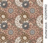 abstract decorative vector... | Shutterstock .eps vector #422090902