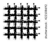 grid. crossing the horizontal... | Shutterstock .eps vector #422108692