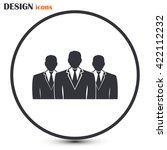 team icon | Shutterstock .eps vector #422112232