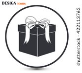 vector illustration of gift box | Shutterstock .eps vector #422113762
