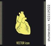 heart icon | Shutterstock .eps vector #422119222
