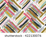 vector seamless pattern with... | Shutterstock .eps vector #422130076
