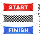 starting  finishing  and... | Shutterstock .eps vector #422130262