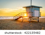 Lifeguard Tower On The Beach A...