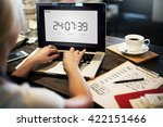 clock watch time alarm timer... | Shutterstock . vector #422151466
