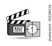 film industry design  | Shutterstock .eps vector #422186116