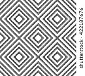 simple geometric seamless... | Shutterstock .eps vector #422187676
