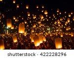 chiang mai thailand  october 25 ... | Shutterstock . vector #422228296