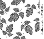 seamless pattern with hand... | Shutterstock .eps vector #422230885