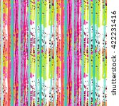 Abstract Art Grunge Colorful...