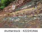 Cracks And Colorful Layers In...
