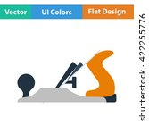 flat design icon of jack plane...