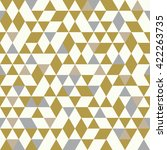 seamless golden pattern of...   Shutterstock .eps vector #422263735