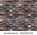 huge collection of audio... | Shutterstock . vector #422265142
