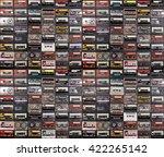 huge collection of audio... | Shutterstock . vector #422265142