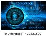 blue arrow abstract light hi... | Shutterstock .eps vector #422321602