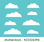 vector flat stile icon design... | Shutterstock .eps vector #422326396