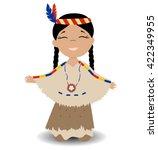 Native American Indian Girl....