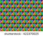 wallpaper. geometrical pattern... | Shutterstock .eps vector #422370025