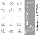 high quality thin line icons of ... | Shutterstock .eps vector #422371066
